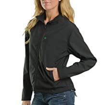 Venture Heat Women's City Collection Heated Soft Shell Jacket (Black, Small)