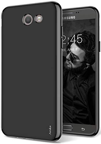 - Galaxy J7 V Case, Galaxy J7 Prime, Galaxy J7 Perx Case, J7 Sky Pro Case, Aeska [Slim Thin] Flexible TPU Soft Skin Silicone Protective Case Cover for Samsung Galaxy J7 2017 (Black)