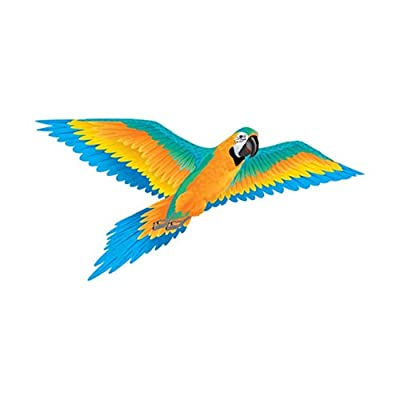 Blue Macaw 74in Nylon Kite Brainstorm Products : Garden & Outdoor