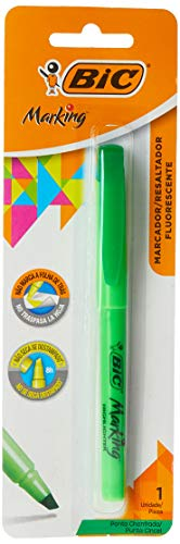 Marcador de Texto, BIC, Brite Liner, 854812, Verde