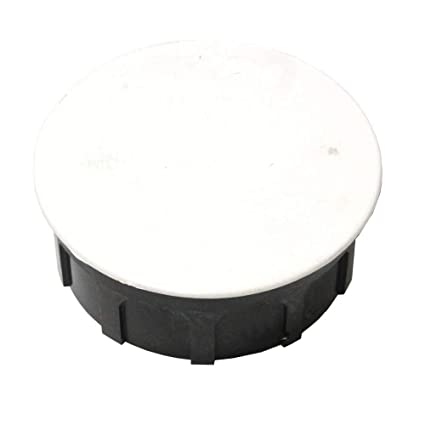 BeMatik - Caja empotrada de Registro eléctrico Redonda 40x80mm
