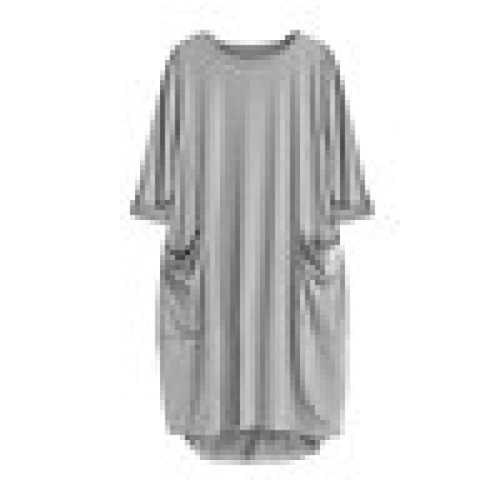 2018 Womens Pocket Loose Dress Ladies Crew Neck Casual Long Tops Dress Plus Size by (Dresses For Teenage Girls Cheap)