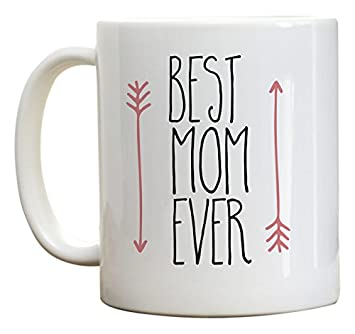 Buy Mothers Day Gift Best Mom Ever Coffee Mug Birthday Gifts For Ideas Pink Arrow 11 Oz Online At Low Prices In India