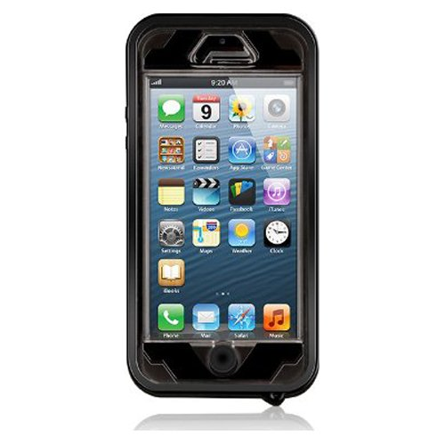 Naztech Vault Waterproof Cover for iPhone SE/ 5 / 5s - Black