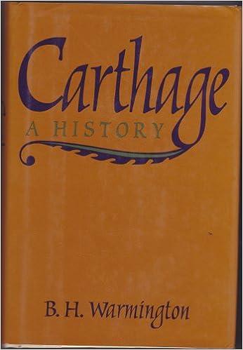 B.H. Warmington - Carthage: A History