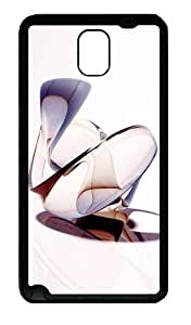 Abstract 3D Shapes Custom Designer Samsung Galaxy Note 3 / Note III/ N9000 - TPU - Black