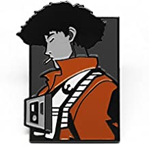 "Star Wars Cowboy Bebop mash up Enamel Pin. perfect for your hat, tie, backpack and more! 1.5"" with dual posts and rubber backing! could be used as cufflink! Exclusive by PatchWizard for Comic con"