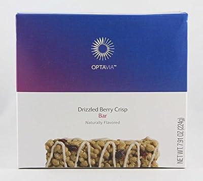 Optavia Drizzled Berry Crisp Bar - 7 Servings