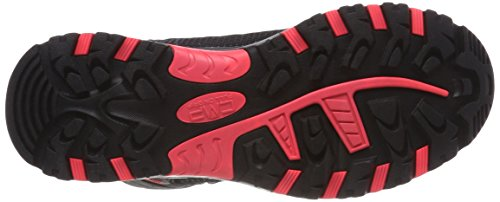 grey Senderismo Unisex De Fluo Zapatos red High Adulto Wp Rise Rigel Cmp Mid Gris wC0PPq