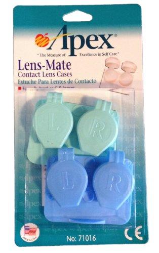 Lens-et étuis de lentilles de contact par Apex Healthcare Products