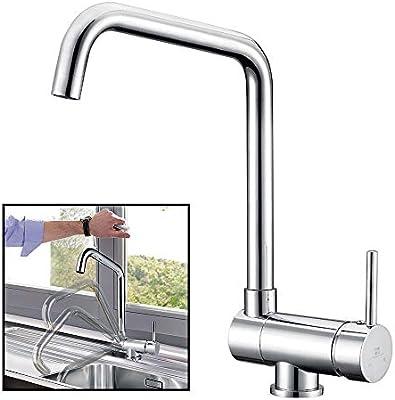 360° drehbar Vorfenster Wasserhahn Küchenarmatur Spültischarmatur Mischbatterie