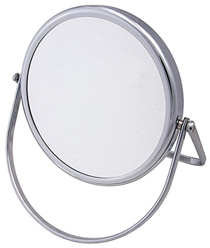 Frasco Mirrors Folding Stand Double Sided Mirror, Chrome, 1.5 lb.