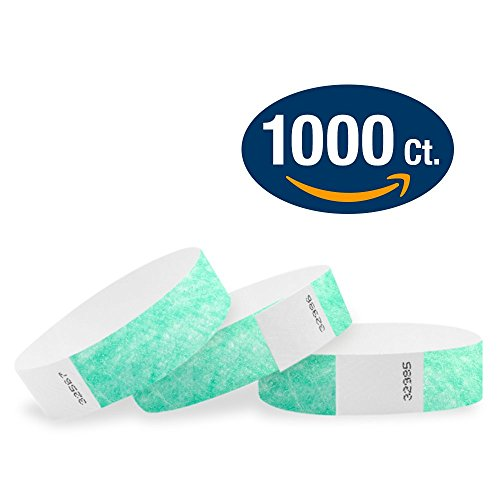 WristCo Aqua Tyvek Wristbands Events product image