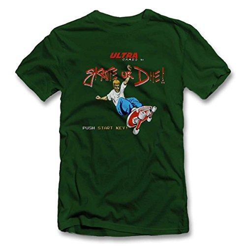 Foncé Couleurs S xxl Or Die Vert Skate Colours shirt 12 T 4qwSF0Zav