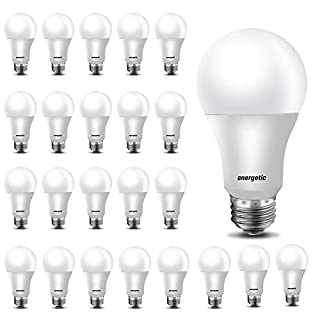 24 Pack A19 LED Light Bulb, 40 Watt Equivalent Warm White 3000K, E26 Standard Base, UL Listed, Non-Dimmable LED Light Bulb