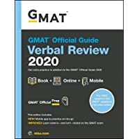 GMAT Official Guide 2020 Verbal Review: Book + Online
