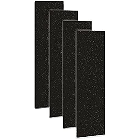 Carbon Activated Pre Filter For Use With The Germguardian FLT5000 FLT5111 HEPA Filter For AC5000 Series Air Purifiers Filter C Pack Of 4 By Breezeco