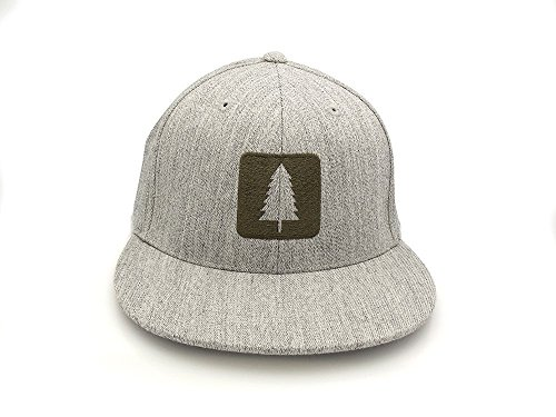 Men's Hat - Wilderness Area - Men's Fitted & Snapback Options Available