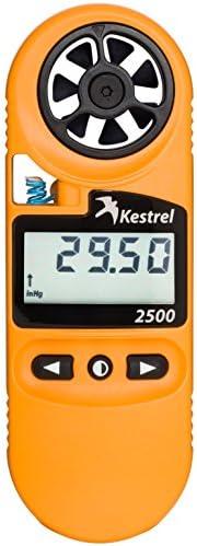 Kestrel 2500 Pocket Weather Meter/Digital Altimeter Thermometer Anemometer
