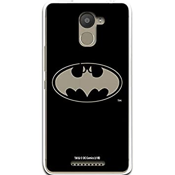 Carcasa Oficial Batman Transparente BQ Aquaris U Plus ...