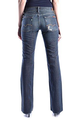 Bleu Coton All For MCBI004010O Femme 7 Mankind Jeans OXWTqc