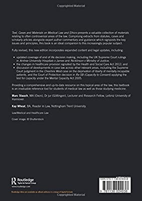 Text, Cases & Materials on Medical Law and Ethics: Marc