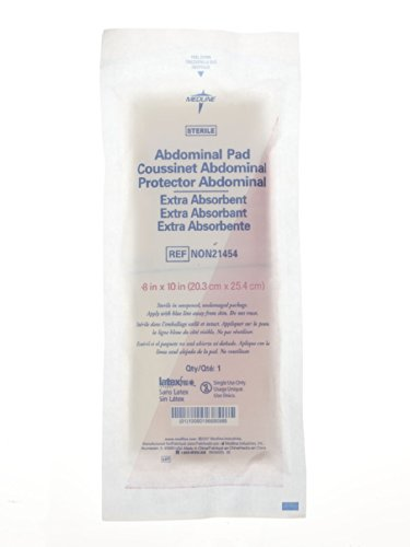 Medline Sterile Abdominal Pads, 8