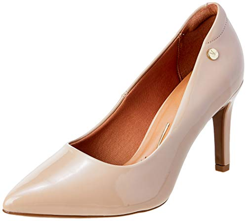 Sapatos Verniz Premium, Vizzano, Feminino, Bege, 39