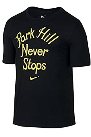 [748836-010] NIKE QT PARK HILL NEVER STOPS APPAREL APPAREL NIKEBLACK YELLOW