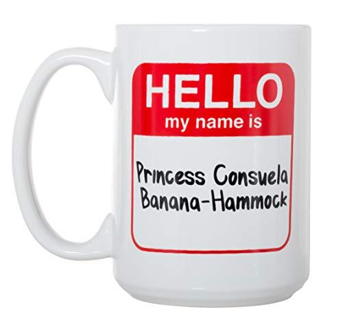 Friends TV Show Princess Consuela Banana Hammock 15 oz Deluxe Large Double-Sided Mug