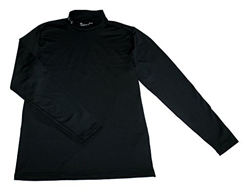 Under Armour Coldgear Mock - Under Armour Men's ColdGear Fitted Mock Athletic Long Sleeve Shirt (L)