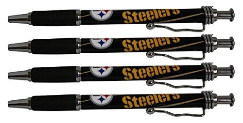 - Pittsburgh Steelers Jazzy Pen 4pk