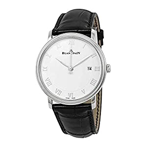 Best Epic Trends 41frKMpP9OL._SS300_ Blancpain Villeret Automatic Men's Watch, Stainless Steel, White Dial, 6651-1127-55B