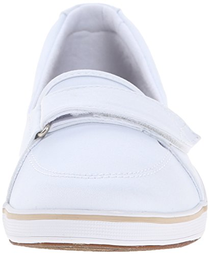 White Shelborne Women's On Slip Flat Grasshoppers 47pwnXz5qz