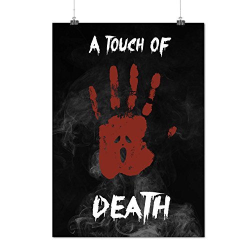 Touch Of Death Horror Matte/Glossy Poster A2 (60cm x 42cm) | Wellcoda