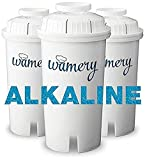 Best Alkaline Water Pitchers - Water Filter Replacement 3-Pack. Fits Wamery and Brita's Review