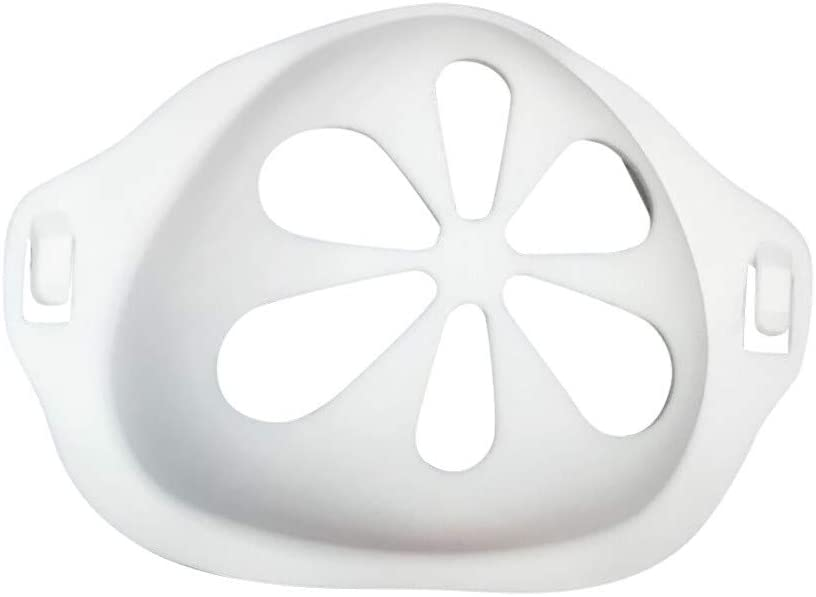 Silicone Holder Increases Breathing Space to Help Breathe Smoothly