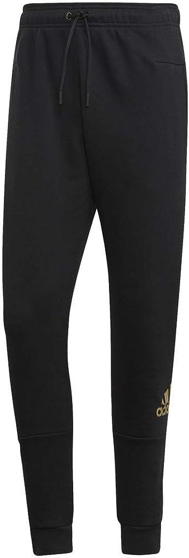 adidas Pantalón Deportivo de algodón metálico para Hombre: Amazon.es: Ropa y accesorios
