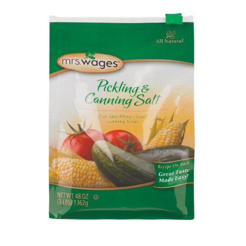 Buy mrs. wages pickling salt, 48-ounce