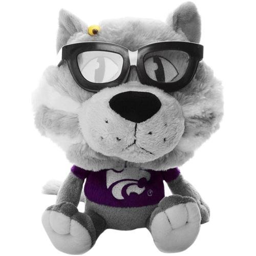 Fabrique Innovations NCAA Study Buddy Mascot Plush Toy, Kansas State Wildcats