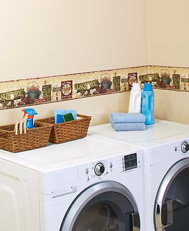 peel-and-stick-decorative-wall-borders-laundry-room
