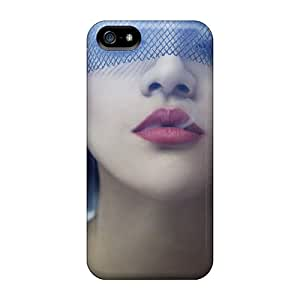 High Impact Dirt/shock Proof Cases Covers For Iphone 5/5s (girl Smoke Veil)