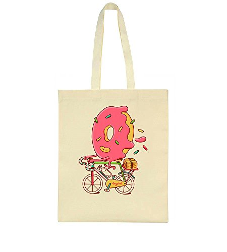 Bicycle Sweet Riding Tote Donut A Artwork Bag w8r8Ot
