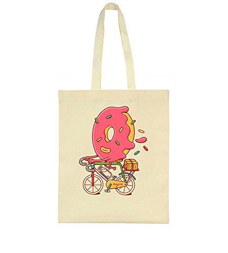 A Tote Idcommerce Donut Bicycle Bag Artwork Riding Sweet tOz1UzqR