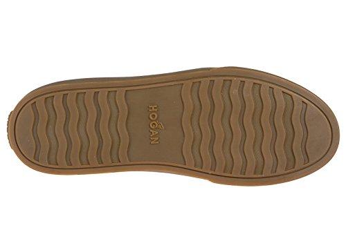 Hogan Vrouwen Schoenen Sneakers Dames Suède Schoenen Sneakers Bruin H340