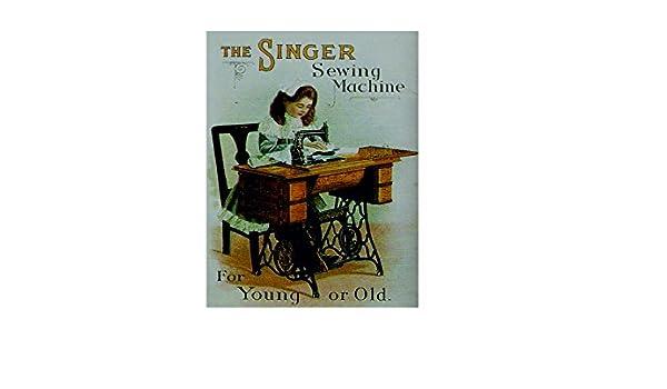 Ecool The Singer máquina de Coser para jóvenes o Viejos Retro ...