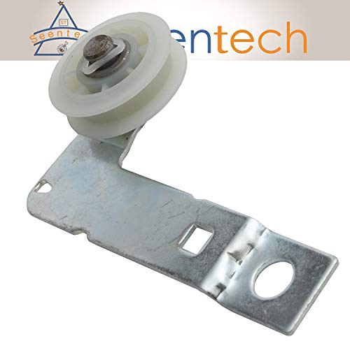 (W10837240 Dryer Idler Pulley with Bracket: Exact Fit For Whirlpool Kenmore Maytag Dryer Replace 279640 W10118756 W10547290 PS11726337)