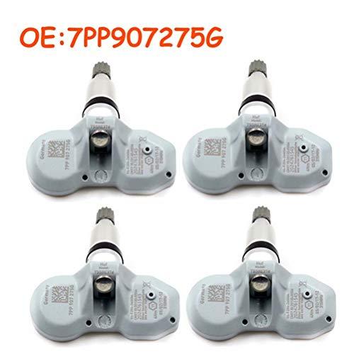 YUAN024YUAN 4 Pieces Tyre pressure control system sensors TPMS sensors OE 7PP 907 275G: