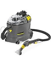 Kärcher Puzzi 8/1 C Drum vacuum cleaner 1200W Negro, Gris, Amarillo - Aspiradora (1200 W, 220-240, 50/60, Aspiradora de tambor, Sin bolsa, Negro, Gris, Amarillo)