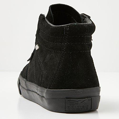 British Top black Men's Mid Black Sneaker Knights High Parrot XqrXv